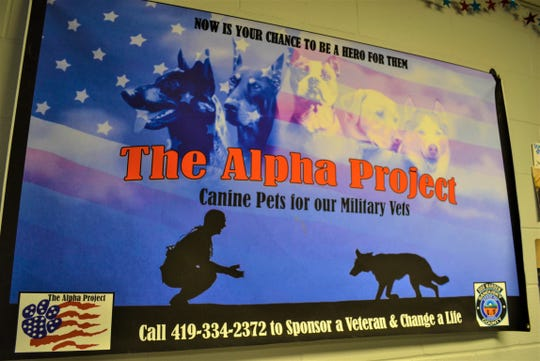 Since its inception over two years ago, the Alpha Project has connected 32 dogs with military veterans. The program was recently expanded to include all current and retired first responders.