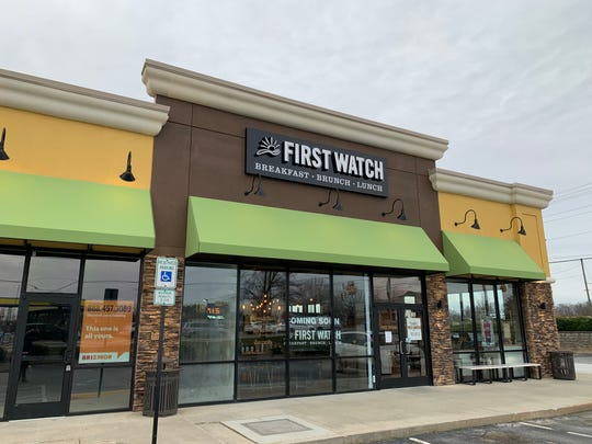 New Simpsonville restaurant First Watch is pictured on Thursday, Jan. 23, 2020, a few days before it's scheduled opening on Jan. 27. The brunch spot is located at 375 Harrison Bridge Road in the shopping center with TJ Maxx.