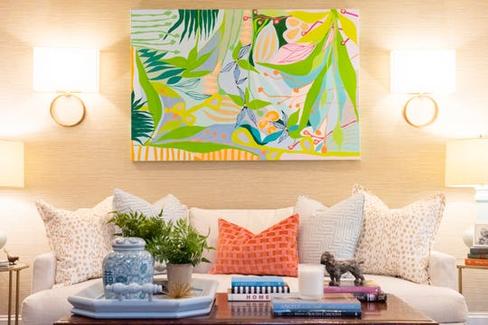 A formal living room designed by Taylor Johnson Interiors