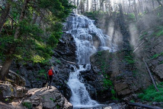 "FIRST PLACE - ""Waterfall Hike Near Seeley Lake"""