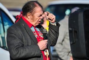 Timothy Davis, chairman of the Blackfeet Nation.