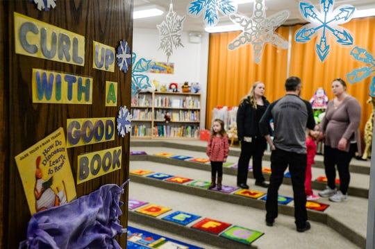 GFPS Preschool library.