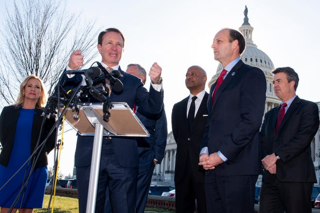 Louisiana Attorney General Jeff Landry says Wednesday that Republican Attorneys General of 21 states submitted a letter to the Senate to reject the two articles of Impeachment against President Donald Trump.