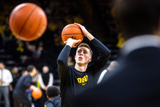 Joe Wieskamp averaged 14.0 points and 6.1 rebounds as a sophomore, but saw his 3-point percentage dip to 34.7%. He hopes to provide more consistency as a junior on his way to a pro career.