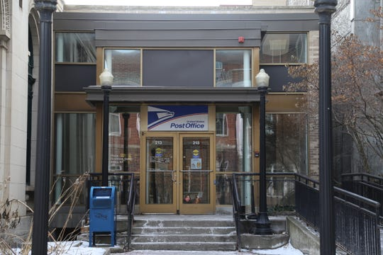 The U.S. Postal Service has offered a downtown Ithaca location since the early 1900s.