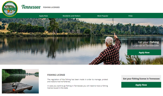 The Tennessee Wildlife Resources Agency warned buyers of a scam website that collects personal information using fake fishing license applications.