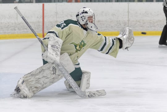 Ean Badgett made 16 saves for Howell in a 7-0 shutout of Northville.