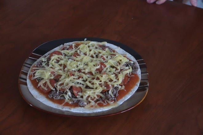 Gloria shares a recipe for easy tortilla pizza wedges in this week's column.