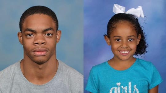 LeQuan Boyd, 16, and Ashlynn Luckett, 6.
