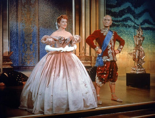 "Deborah Kerr and Yul Brynner were both Oscar-nominated (though only Brynner won) for their roles in the Best Picture of 1956, ""The King and I,"" directed by Memphis-born Walter Lang."