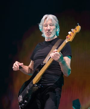 Roger Waters, legendary frontman for the band Pink Floyd plays his music to a full crowd at the BMO Bradley Center Saturday. July 29, 2017. Gary Porter for the Journal Sentinel.