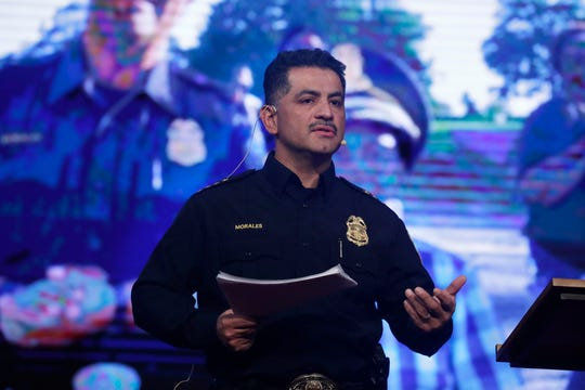 Milwaukee Police Chief Alfonso Morales talks about improving crime rates.