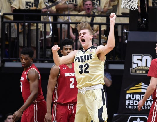 Purdue has had plenty of reason to celebrate when it has played Wisconsin at Mackey Arena in West Lafayette, Indiana, where the Boilermakers are 40-4 against the Badgers.