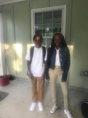 Twins Jaylan and Jayla Saunders. Jaylan Saunders, 16, was shot and killed while sleeping his bed on Jan. 24, 2019.
