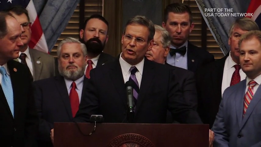 Gov. Bill Lee announces new fetal heartbeat bill, comprehensive abortion restriction legislation
