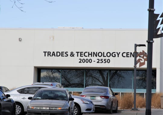 The San Juan College Trades and Technology Center is pictured, Thursday, Jan. 23, 2020, in Farmington.