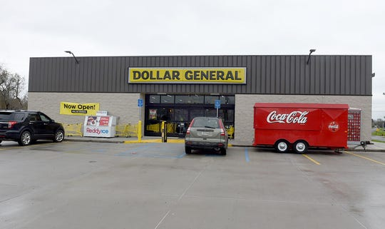 The new Dollar General is located on U.S. 190.