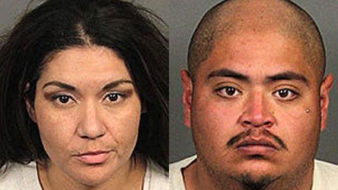 From left: Jennifer Andrews and Richard Gonzales.