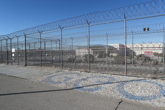 The Desert View Correctional Facility is operated by the GEO Group and may be converted to an immigration detention facility in Adelanto, Calif., on Jan. 22, 2020.