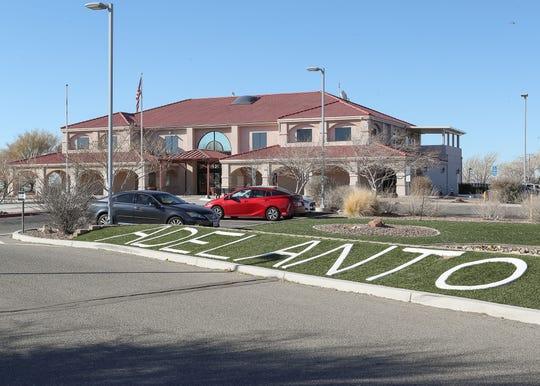 The Adelanto City Hall, January 22, 2020.