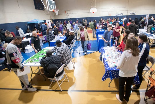 The Salvation Army on North Q Street hosted Opening Doors Northwest Florida's annual U-Count Homeless Resource DayThursday.