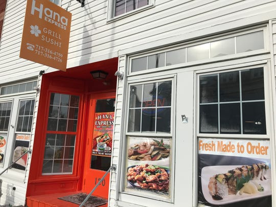 Hana Express is located at 120 E. Chesnut St. in Hanover.