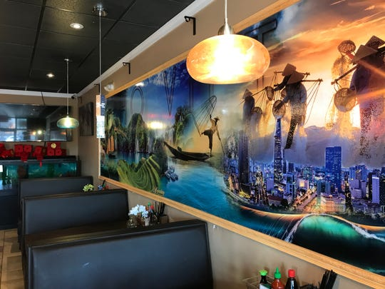 A mural is displayed at Pho Viet Vietnamese Cuisine located at 101 Wilson Ave. in Hanover.