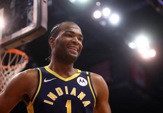 T.J. Warren had a very nice return to Phoenix. He scored 25 points in the Indiana Pacers' 112-87 win over the Suns.
