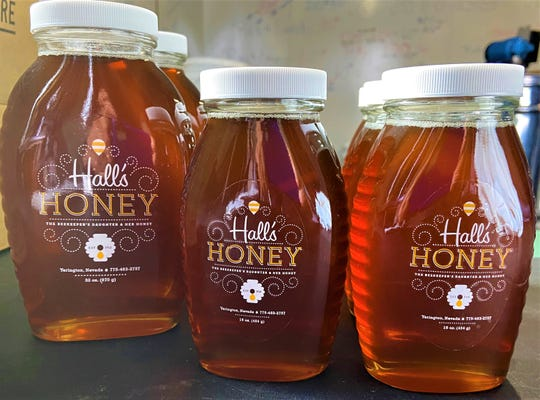 Hall's Honey is for sale in the Yerington and Smith Valley areas.