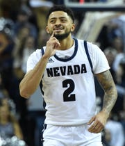 Nevada's Jalen Harris had a complete game against UNLV, scoring 28 points, dishing out six assists, and not turning the ball over once.