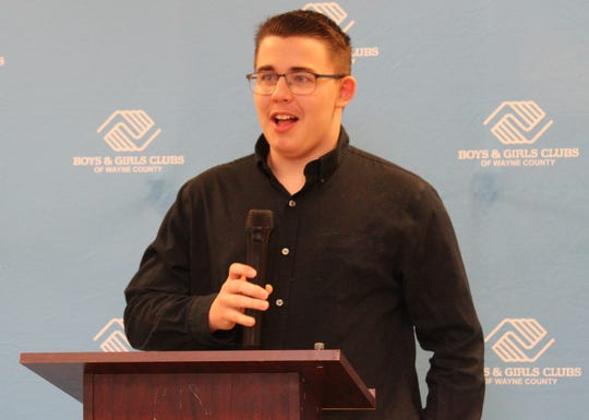 Wesley Phillips has been named the Boys & Girls Clubs of Wayne County's 2020 Youth of the Year.