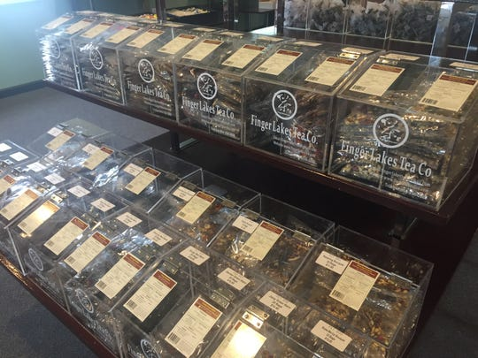 Finger Lakes Tea Co. changed its business concept of a tea house with dim sum to focus on teas, all of which come from China.
