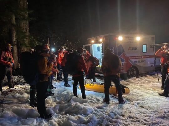 A man was rescued from Bagby Hot Springs after being trapped in a tub, due to a medical issue, for around 30 hours.
