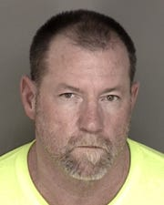 CHP arrested Charles Laffety in connection with Highway 101 projectiles investigation.