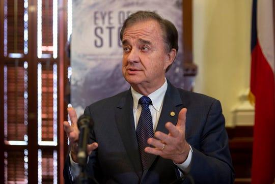 Texas A&M Chancellor John Sharp.