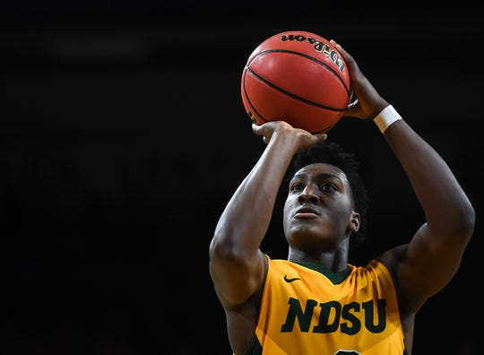 Tyree Eady has averaged 6.7 points a game for the Bison.
