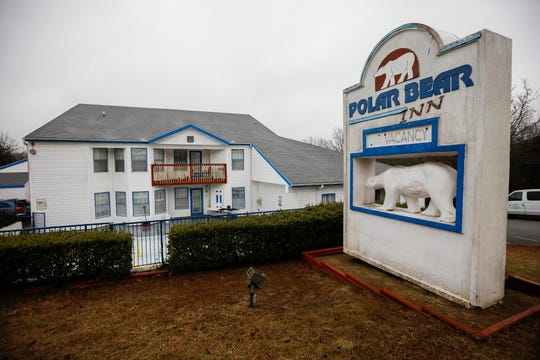 The residents at the Polar Bear Inn in Branson, Mo., were forced to leave after the city shut them down on Thursday, Jan. 23, 2020. The management continues to work on the property to get it up to code so the residents can move back in.