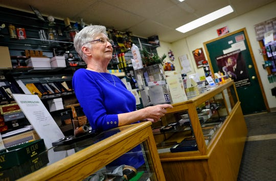 GW Coffee & Tobacco owner Marilyn Elliot plans to close her shop on the East Side soon because there are fewer and fewer small stores in the area. She is pictured Wednesday, Jan. 22, 2020, in St. Cloud.
