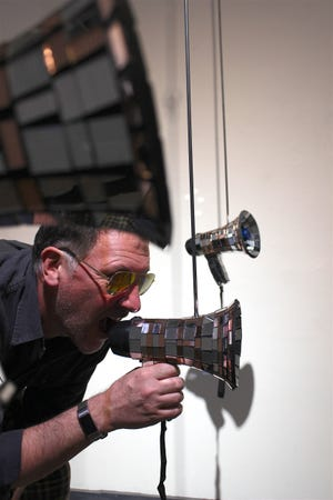 Artist and Florida State University adjunct art instructor Tom Hall has an exhibit at 621 Gallery.