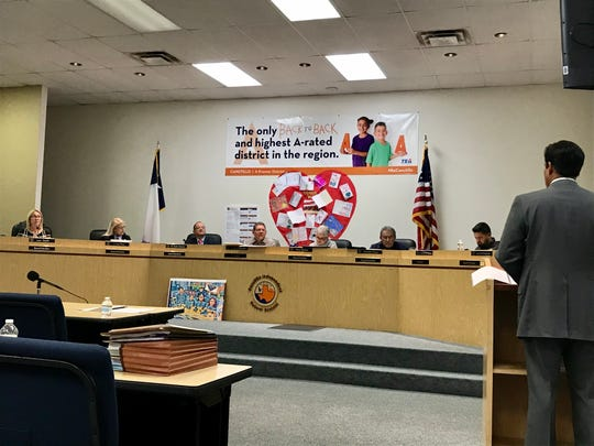 The Canutillo ISD Board of Trustees accepted a TEA corrective action plan Wednesday, Jan. 22, 2020.