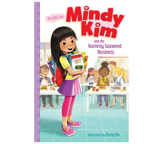 """Mindy Kim and the Yummy Seaweed Business"" by Lyla Lee"