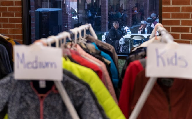 Homeless Connect offered clothing, food and access to other services at St. Paul's Church on Thursday, January 23, 2020.