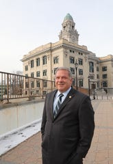 Yonkers Mayor Mike Spano, is pictured at Yonkers City Hall, Jan. 23, 2020.