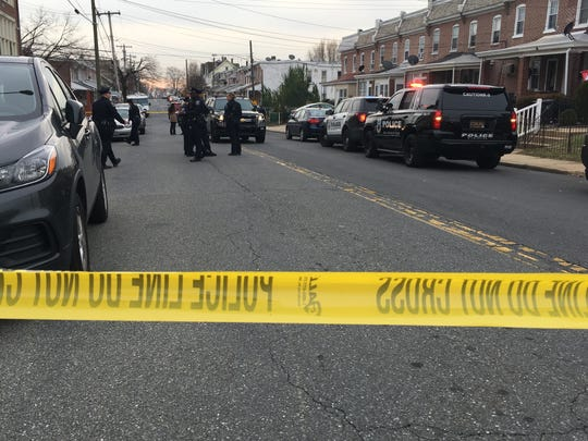 Wilmington police are currently on scene at a shooting in the 300 block of Woodlawn Avenue in Wilmington, about a block from Woodlawn Park.