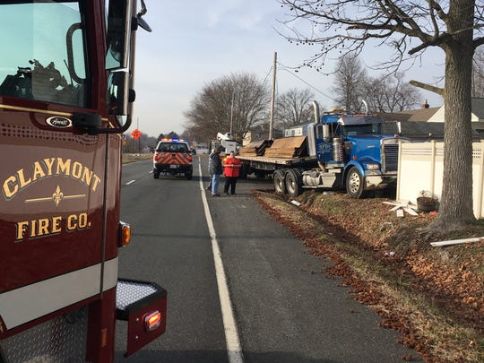 At least one person was seriously injured Thursday morning in a crash involving a tractor trailer in Claymont.