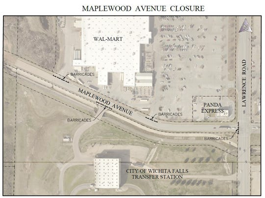 Maplewood Avenue will be closed between Lawrence and McNeil for nine months beginning Feb. 3 for construction.