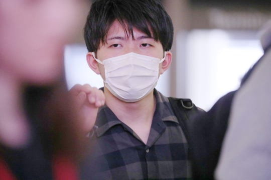 A passenger arrives at Los Angeles International Airport, one of five U.S. airports set up by the CDC to screen passengers arriving from China. The others are Atlanta's Hartsfield-Jackson International, ChicagoO'Hare International Airport, San Francisco International and New York's JFK.