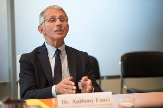 Dr. Anthony Fauci, director of the National Institute of Allergy and Infectious Diseases, says a vaccine for coronavirus could be ready for human testing in as few as three months.