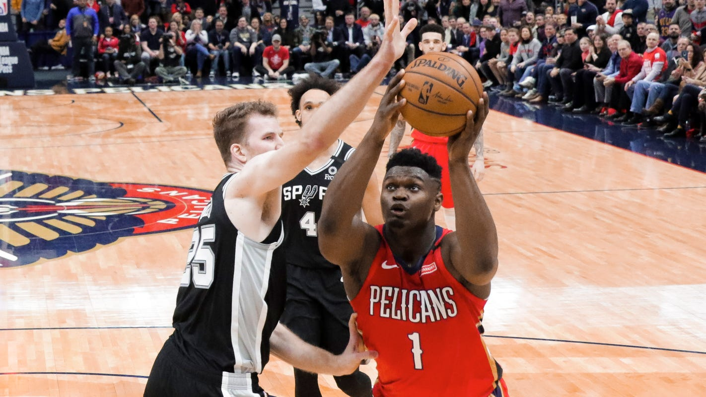 Zion Williamson tantalizes in debut, but Pelicans will wait to fully unleash him