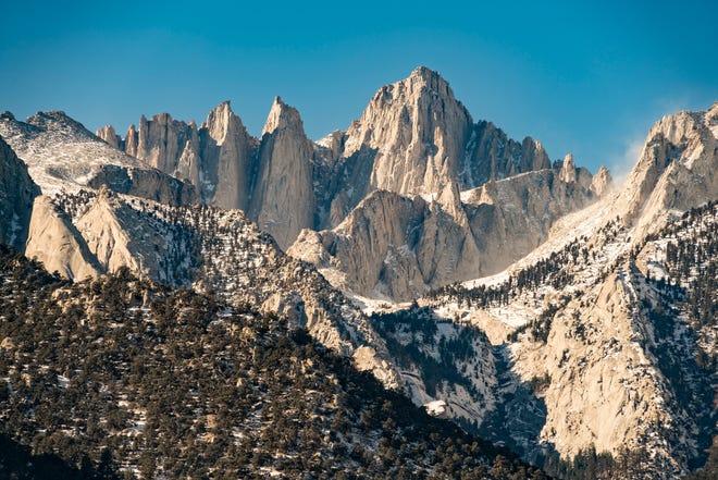 11. Mount Whitney in Lone Pine, California
